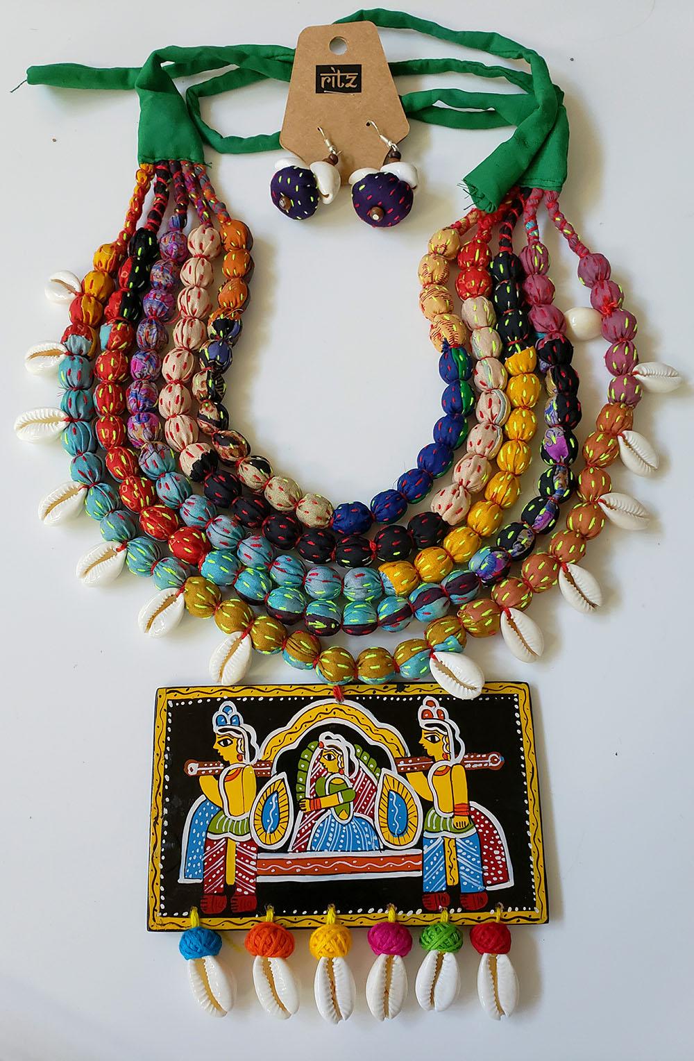 Tikuli Art Fabric Jewelry Ritz Fashion Trendz